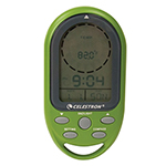 """""""Celestron TrekGuide Lite (Green) Brand New Includes Two Year Warranty, The Celestron TrekGuide Lite Digital Compass is a multi-purpose navigation tool that features a digital compass, thermometer, calendar, clock, and an alarm"""