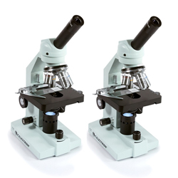 Celestron 44106 (2-Pack) Advanced Biological Microscope 1000