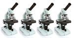 Celestron 44106 (4-Pack) Advanced Biological Microscope 1000