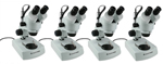 Celestron 44206 (4-Pack) Professional Stereo Zoom Microscope 142036-5