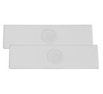 Celestron 44417 (2 Pack) Blank Concave Microscope Slides
