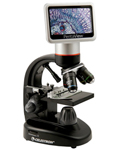 """""""Celestron 44348, The Celestron 44348 replaces traditional eyepieces with LCD Touch Screen Panel which is rotatable 180&deg horizontally for easy and comfortable viewing for yourself and to share with others"""
