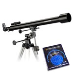 Celestron 21043 with Skymaps Celestron PowerSeeker 60EQ Telescope